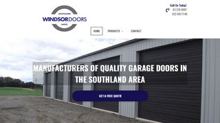 Windsor Doors Invercargill