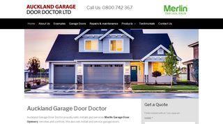 Auckland Garage Door Doctor