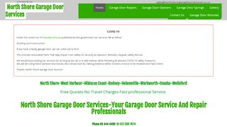 North Shore Garage Doors